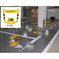 China Remote control DC12V parking space barrier systems 450 * 460 * 95mm with alarm function wholesale