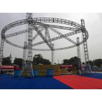 China Performance Stage Lighting Truss , Customized Vertical Lighting Truss Adjustable Height on sale