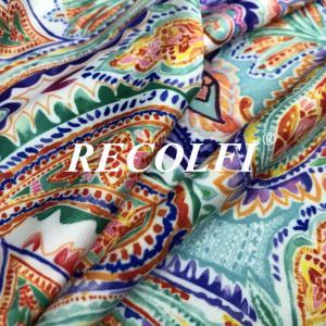 China Oeko Tex Standard 100 Recycled Spandex Fabric Kahki Colors Stock Program wholesale