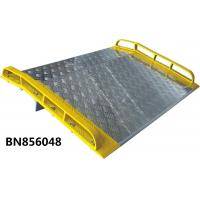 China Heavy Duty  Dock Plates , Aluminum Dock Board With Steel Curb 15000 Lbs Capacity wholesale