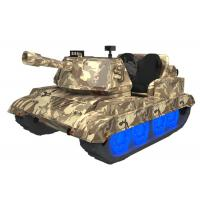 China Double Person War Thunder Tanks / Virtual Reality Arcade Game Machines wholesale
