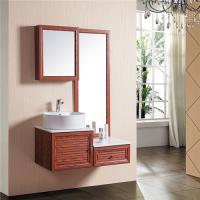 China Classic Lightweight Bathroom Sinks And Vanities Eco Friendly Large Storage Space wholesale