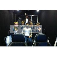 China Luxury 7D Trailer / Truck Cinema Systems With 12 seats Motion Chairs , Pneumatic System wholesale