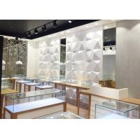 China High End Attractive Lighting Jewelry Store Display Cases / Jewelry Store Fixtures wholesale