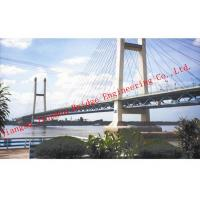 Quality Hot Dip Galvanized Steel Truss Bridge Metal Modular Deck Assembly Modern Structure Outlooking for sale