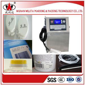 Willita hot selling 4 lines USA pump automatic inkjet marking machine