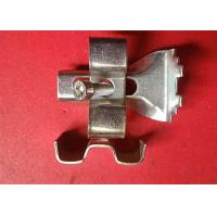 China Expanded Steel Grating Clips , Floor Grating Clips Skid Resistance wholesale