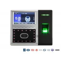 Quality Biometrict Face Identification Access Control System IR Camara TCP IP 4.3 Inch Touch Screen for sale