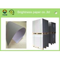 China Recycled Premium Coated A4 Paper Board , Hard Stiffness Beverage Board Paper wholesale