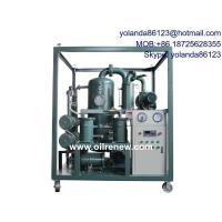 China Insulating Oil Regeneration/ Oil Dehydration/Insulating Oil Degassing ZYB on sale