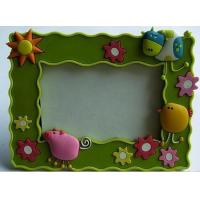 China New Eco-friendly,non-toxic material Pvc. rubber, silicone products photo frame arts crafts wholesale