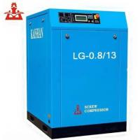 China 13 Bar 7.5kw Rotary Screw Air Compressor 1.3mpa / 190 PSI Portable Air Compressors on sale