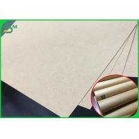 China 300GSM FSC Approved Brown Color Kraft Liner Sheet For Notebook Cover wholesale