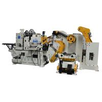 Buy cheap 3 in 1 combined decoiling straightener feeder for steel coil flattening (MAC4-600F) from wholesalers