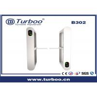 China Intelligent Sensor Turnstile Barrier Gate 35 Persons / Min Transit Speed wholesale