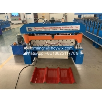 China Cold 8kw 8M Roofing Sheet Roll Forming Machine wholesale