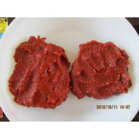 China Triple Concentrate  Bulk Sweet Tomato Paste In Wooden Bin No Additives wholesale