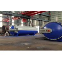 China Pneumatic Laminated Vulcanizing Autoclave , Pressure In Autoclave By PLC Controller wholesale