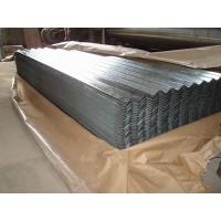 China SGCC Galvanized Corrugated Roofing Sheet JIS G3302,Zinc coating 60-275g/m2 on sale