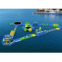 China Anti - UV Giant Inflatable Water Park wholesale