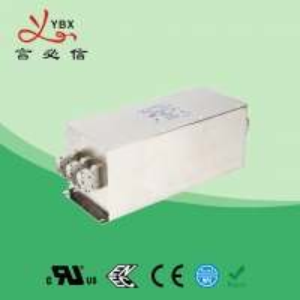 China Yanbixin 60A 250V 480VAC RFI Power Filter , Industrial Power Line RFI Filter wholesale