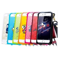 China PU leather Impact IPhone 7 8 key chain pouch Mobile Phone Safety Cover wholesale