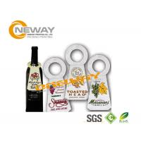 Buy cheap Printed Coated Paper Garment Wine Bottle Hang Tags Full Color product