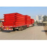 China 40 Ton Pit Type Weighbridge Color Printing No Overturn During Installation on sale