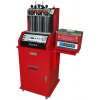 China Auto Diagnostic Fuel Injector Cleaning Machine , 6 Cylinders 220V wholesale