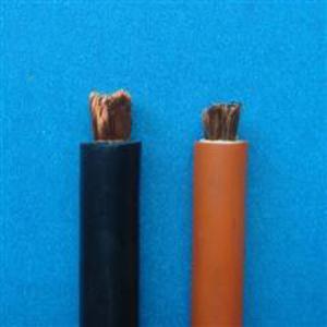 China Black Orange Sheath Welding Cable wholesale