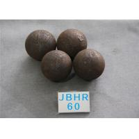 China Hot Rolling Steel Balls B2 D60MM High Hardness 60HRC Steel Ball for Mine Dressing Plant wholesale