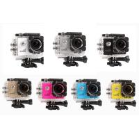 China Small Portable Underwater Waterproof Sports Action Camera 1080P 30FPS High Resolution wholesale