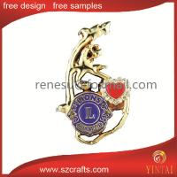 China diamond badges for lions club wholesale