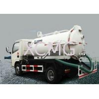 China Useful 5T Special Purpose Vehicles , 6.5L Custom Vacuum Septic Pump Truck For Irrigation wholesale