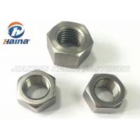 China Fastener Products Stainless Steel Nuts M6 Hexagon Head With Metric Screw Threads wholesale