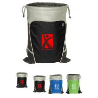 China Promotional Drawstring Bag China Supplier Non-Woven String Shopping Bag wholesale