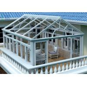 China Safety Glass Villa Aluminium Frame Greenhouse Sunroom For Leisure Life wholesale