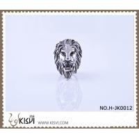China Unique design and low MQO 316l stainless steel ring with factory price H-JK0012 wholesale