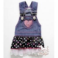 China Popular chiffon dog skirt, cool jean material together with sexy skirt design wholesale