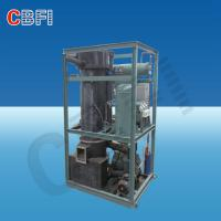 China High Output Industrial Ice Maker Machine , Air / Water Cooled Ice Maker wholesale