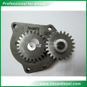 China Cast Iron Diesel Engine Oil Pump / 6.0 Powerstroke Oil Pump 3948072 ISO9001 wholesale