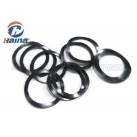 China Customized 65Mn Steel Black Pre load Waved Washer for Machine Engineering wholesale