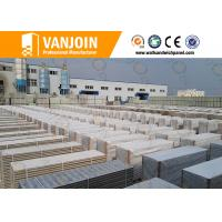 China Lightweight Fireproof  Insulated Sandwich Wall Panels For Room Partition wholesale