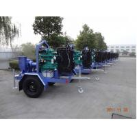 China Portable Diesel Water Pump Set With Wheels Trailer wholesale