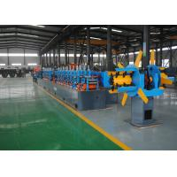 China Low Noise Carbon Steel Erw Tube Mill Machine , High Frequency Welding wholesale