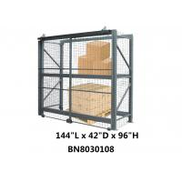 China Theft Preventing Pallet Rack Security Enclosure 12' Long 42 Inch Deep 8' High wholesale