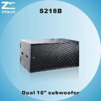 """China S218B Dual 18"""" Vented Subwoofer wholesale"""