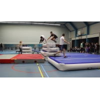 China 3*1*0.1m 4*1*0.1m Home Gymnastics Inflatable Air Track Mat wholesale