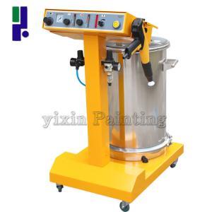 Multifunction Powder Coating Spray Machine 50 L Volume Powder Barrels