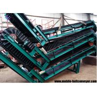 Large Loading Capacity Mobile Conveyor Belt System With Corrugated Sidewall